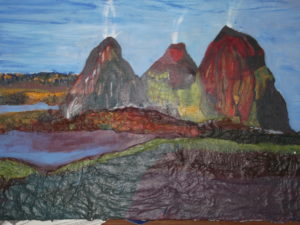 geysers in america by Lorna
