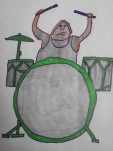 Decorate my drum kit by Dave  King