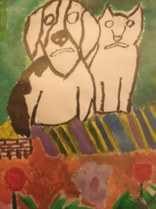 Cat and Dog by Dave  King