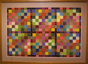 Squares – reflective piece by Sass