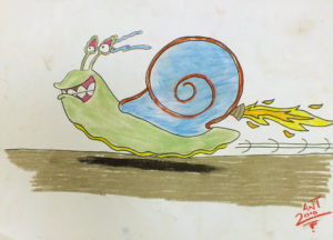 Speed Snail by Antony Dixon