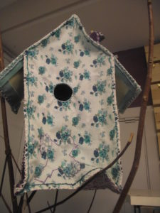 "bird house by detail of ""textiles hair dressers"""