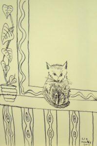 Cat by the Window by Liz Innes