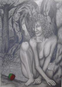 an apple in Eden by Paul Teed