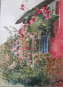 Suffolk Cottage by Lucy Ranger