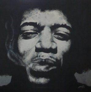 Hendrix by shot