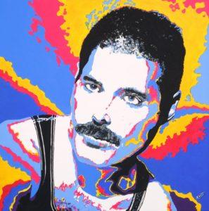 Freddie by shot