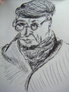 Older man by Flozza