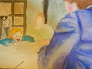 Mother + child V by Flozza