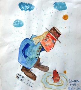 Raining Fish by albert c