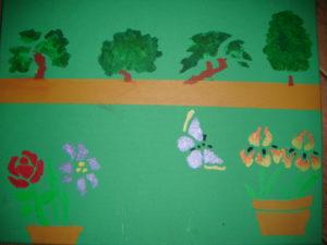 In the Garden by John Guppy