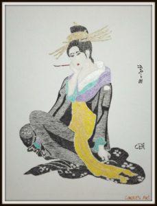 Geisha Girl by Carole