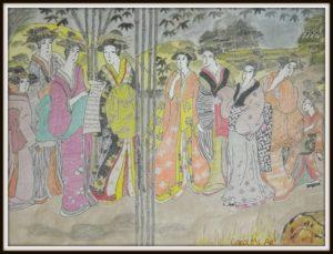 A Geisha Meeting by Carole