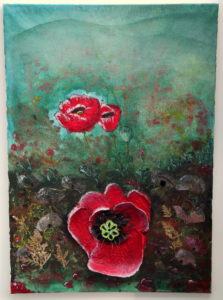 Poppy Dreaming by Jamie Tregurtha