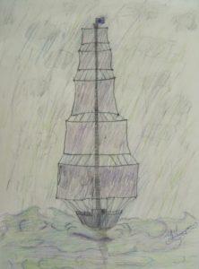 Tall Ship by John T Open Door MK