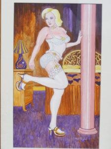 Leggy Blonde by Martin T