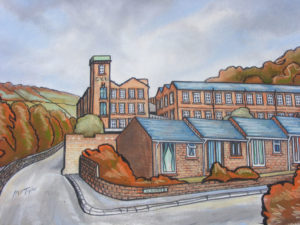 Colne Valley tweed company by Martin T
