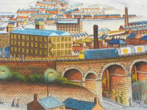 Milnsbridge Viaducts by Martin T