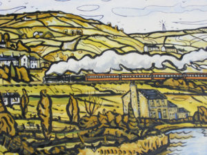 Steaming through the Colne Valley by Martin T