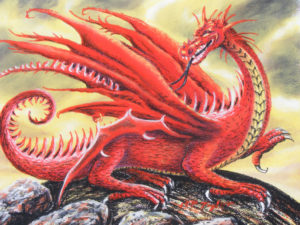 Red Dragon by Martin T