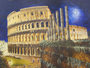 Coliseum of Rome by Martin T
