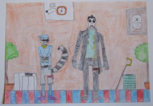 Adam Johnson and Sly Racoon by Adam Johnson