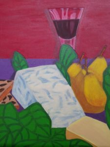Cheese and Wine by Janet Ozay