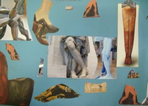 Collage of Legs by Mark H