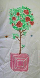 Rosebush by Mark H