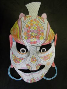 Asian Mask by Mark H