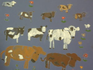 Cows by Belinda Paddock
