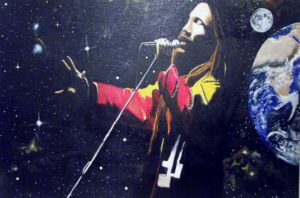 Bob Marley by Paul Ashton