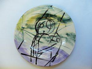 Art Plate by John