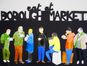 eats at borough market by The Laird of West Walworth