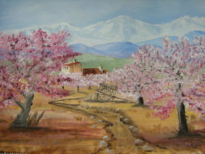 Blossom time by Heather Ramshaw