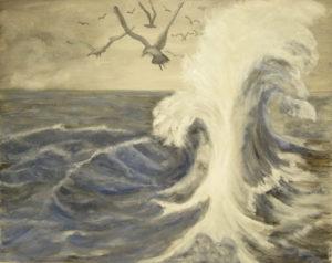 Rough Seas by Heather Ramshaw