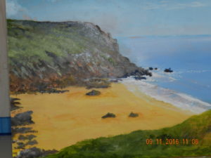 Chapel Porth Cornwall by ron
