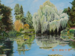 Monets garden Givernay by ron