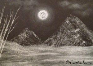 Winter Peak by Carla Jones