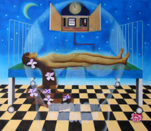 The Electric Bed by Yvonne Mabs Francis