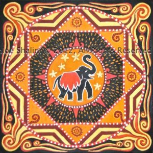 Elephant mandala 2012 by Becoming Yourself 3 2012