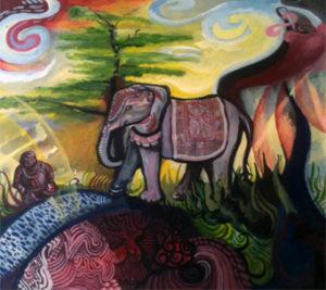 The Elephant by Anthony Milner