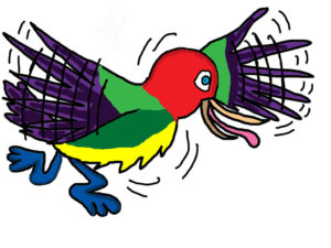 ENERGY BIRD by NATALIE PRIEST