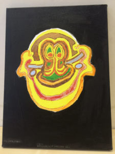 Enthusiastically Smiling Face by Aquinas Okell