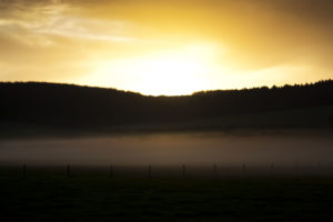 Evening Mist – Skyscapes by Lewis Jenkins