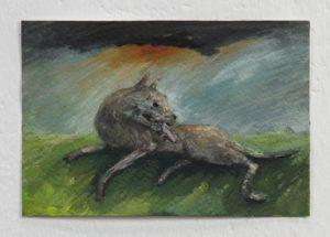 `Evil Dog` – Broken Leg by Michael Hayter