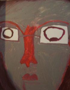 Evil Head by Fatma Durmush