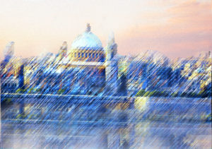 Valletta from the Strand by Part of the Artwalk series 'The younger end'