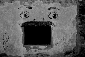 EYES IN THE WINDOW by Photony