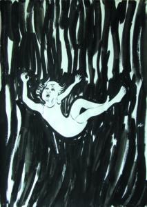 Falling 1 by Sarah Walker